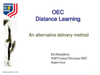 OEC Distance Learning