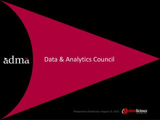 Data & Analytics  Council