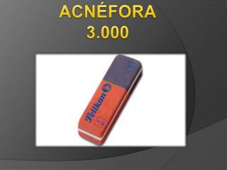 ACN�FORA 3.000
