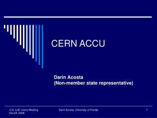 CERN ACCU