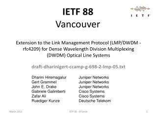 draft-dharinigert-ccamp-g-698-2-lmp-05.txt