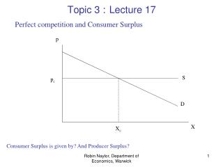 Topic 3 : Lecture 17