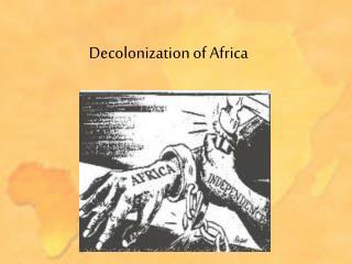 decolonisation of africa essay