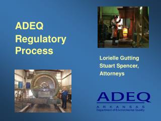 ADEQ Regulatory Process