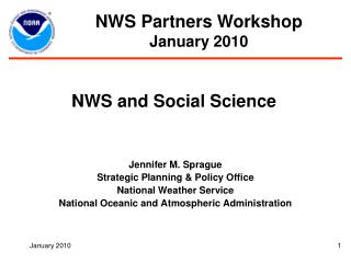 NWS and Social Science