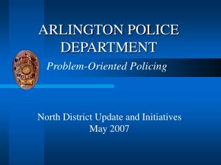 ARLINGTON POLICE DEPARTMENT