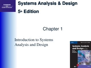 Chapter 1 Introduction to Systems Design and Analysis