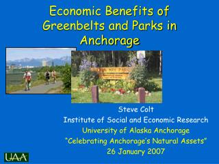 Economic Benefits of Greenbelts and Parks in Anchorage