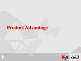 Product Advantage