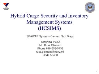 Hybrid Cargo Security and Inventory Management Systems (HCSIMS)
