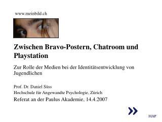 Zwischen Bravo-Postern, Chatroom und Playstation