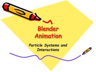Blender Animation