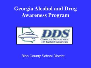Georgia Alcohol and Drug  Awareness Program