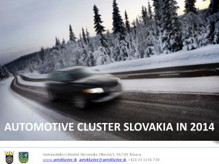 AUTOMOTIVE CLUSTER SLOVAKIA IN 2014