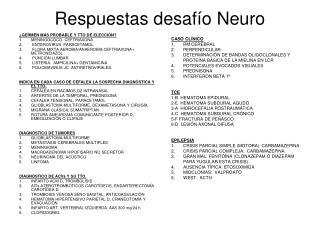 Respuestas desafío Neuro