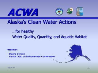 …for healthy  Water Quality, Quantity, and Aquatic Habitat