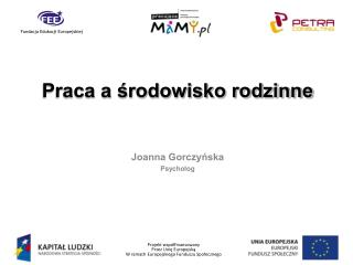 Joanna Gorczyńska Psycholog