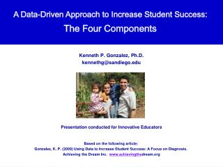 A Data-Driven Approach to Increase Student Success:  The Four Components