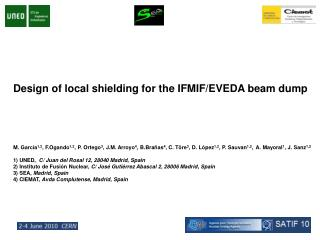 Design of local shielding for the IFMIF/EVEDA beam dump
