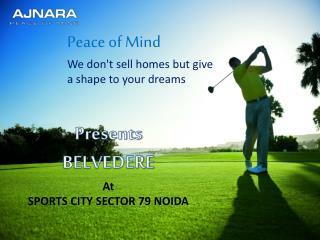 9910199667 @ The Key to Modern Living Ajnara Belvedere