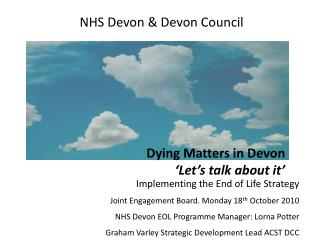 NHS Devon & Devon Council