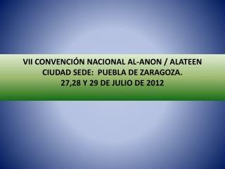 PROPÓSITO DE LA CONVENCIÓN NACIONAL