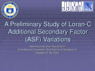 A Preliminary Study of Loran-C Additional Secondary Factor ASF Variations
