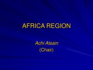 AFRICA REGION