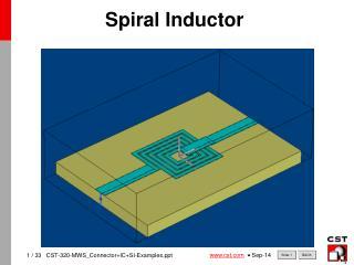 Spiral Inductor