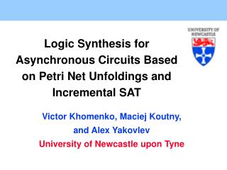 Logic Synthesis for Asynchronous Circuits Based on Petri Net Unfoldings and Incremental SAT