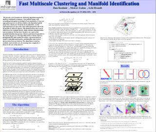 Fast Multiscale Clustering and Manifold Identification