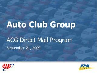 Auto Club Group