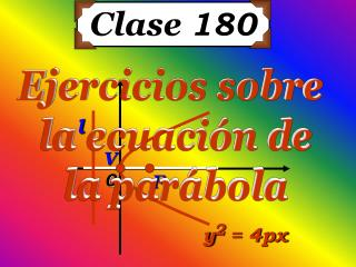 Clase  180