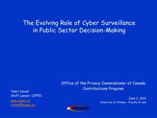 The Evolving Role of Cyber Surveillance in Public Sector Decision-Making
