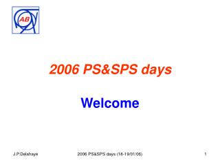 2006 PS&SPS days