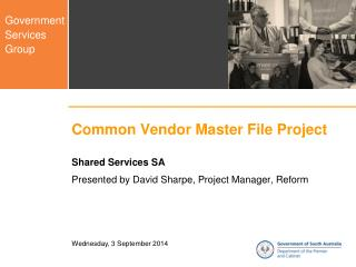 Common Vendor Master File Project