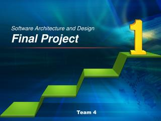 Software Architecture and Design  Final Project