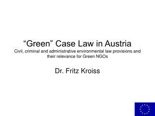 Dr. Fritz Kroiss