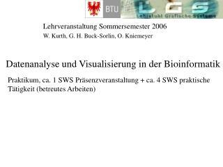 Lehrveranstaltung Sommersemester 2006