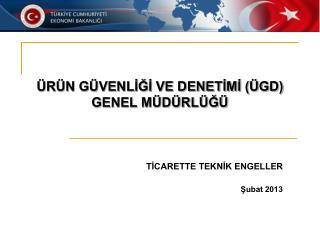 TİCARETTE TEKNİK ENGELLER Şubat 2013