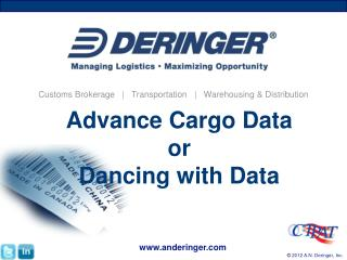 Advance Cargo Data or Dancing with Data