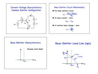 Operation Regions of Bipolar Transistors