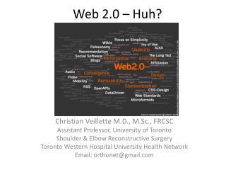 Web 2.0 – Huh?