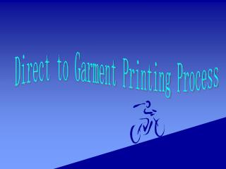 Direct to Garment Printing Process