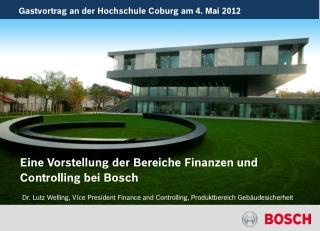 Gastvortrag an der Hochschule Coburg am 4. Mai 2012