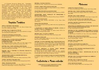 HISTÓRIA, CULTURA E POLÍTICA Dr. Pablo Pozzi (UBA - Argentina) & Dr. Robson Laverdi (UNIOESTE)