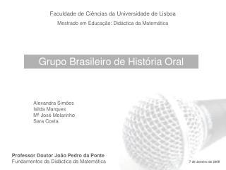 Grupo Brasileiro de História Oral