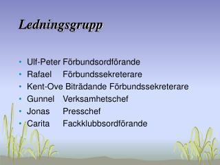 Ledningsgrupp
