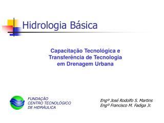 Hidrologia B�sica