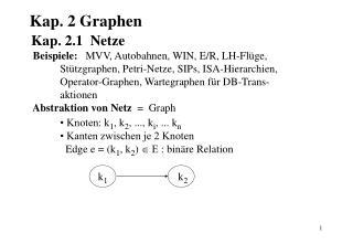 Kap. 2 Graphen